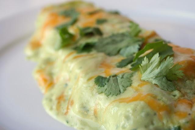 Chicken Avocado Enchiladas | Food | Pinterest