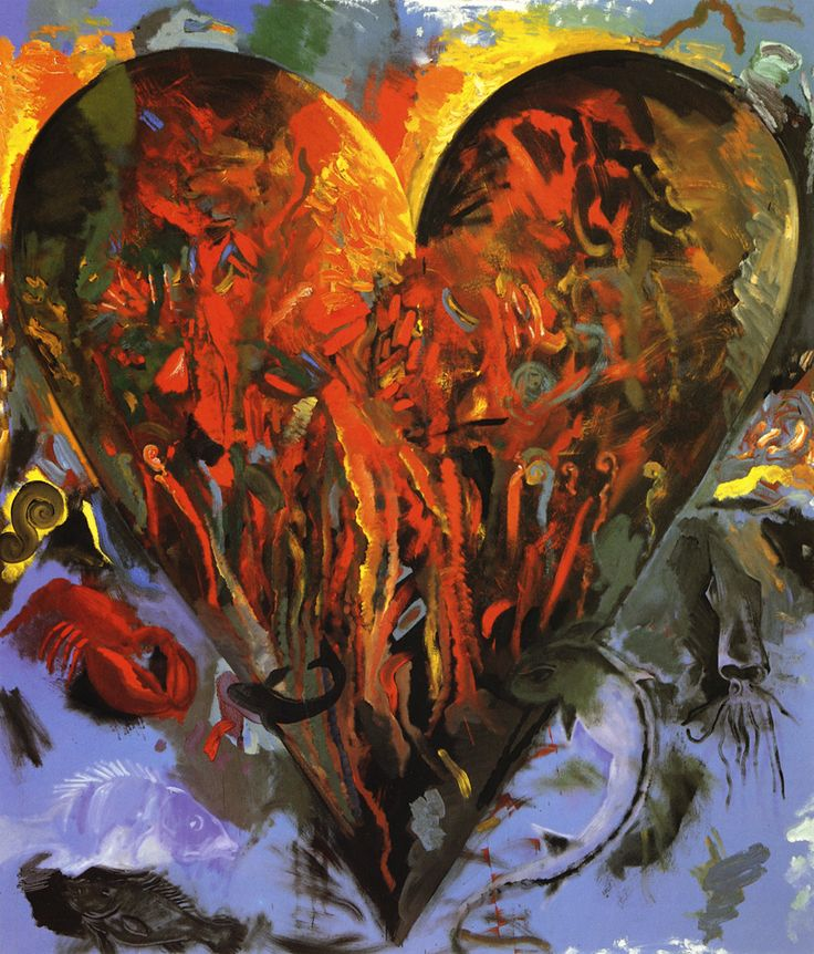 116 best images about Jim Dine hearts on Pinterest