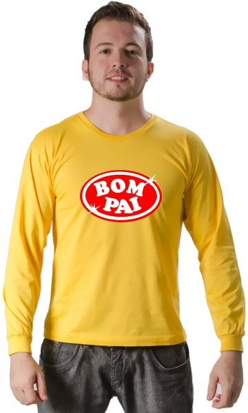 Camiseta Bom Pai - Camisetas Personalizadas,Engraçadas|Camisetas Era Digital