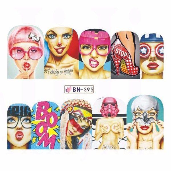 47+ Pop art nail decals ideas