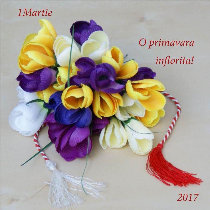 O primăvară înflorita! #flori #artificiale #floriartificiale #plante #uscate #planteuscate #floriuscate #decoratiuni #naturale #1martie #martisor #cadou #unicat #infrumusetare #casa #birou #flowerstagram www.beatrixart.ro