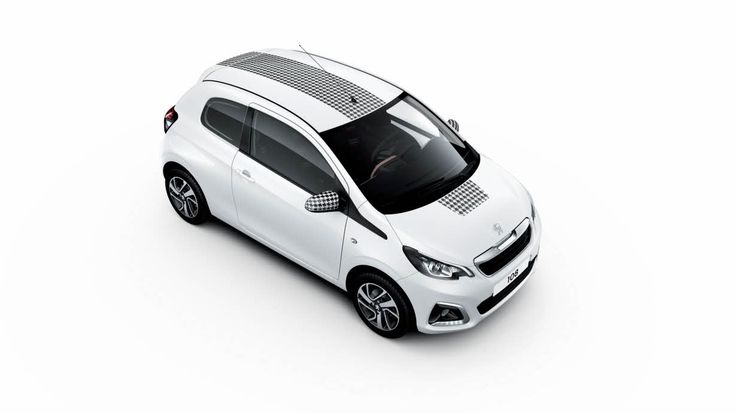 The New Peugeot 108 Dressy.  Discover your 108 - http://www.peugeot.co.uk/showroom/108/3-door/ #My108