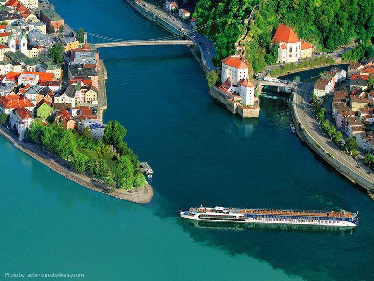 Disney amplía su oferta de cruceros fluviales por el río Rin