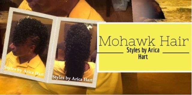 STYLES BY ARICA HART: Mohawk with Braids Hair Styles by Arica Hart