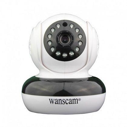 IP Camera Wanscam HW0046 960P HD  Wij bieden u de Nieuwste IP Camera aan in 960P HD waar u mee op een makkelijke manier mee kan kijken via computer/laptop smartphone of tablet. Vanwege de P2P techniek werkt de camera ook direct al buiten uw eigen netwerk via uw 3G of 4G. Er zit ook een audio functie op deze IP Camera dus is het meeluisteren en terugspreken mogelijk dankzij de ingebouwde microfoon en luidspreker. Verder is de IP Camera ook voorzien van nachtzicht zodat u ook in de nacht tot10…