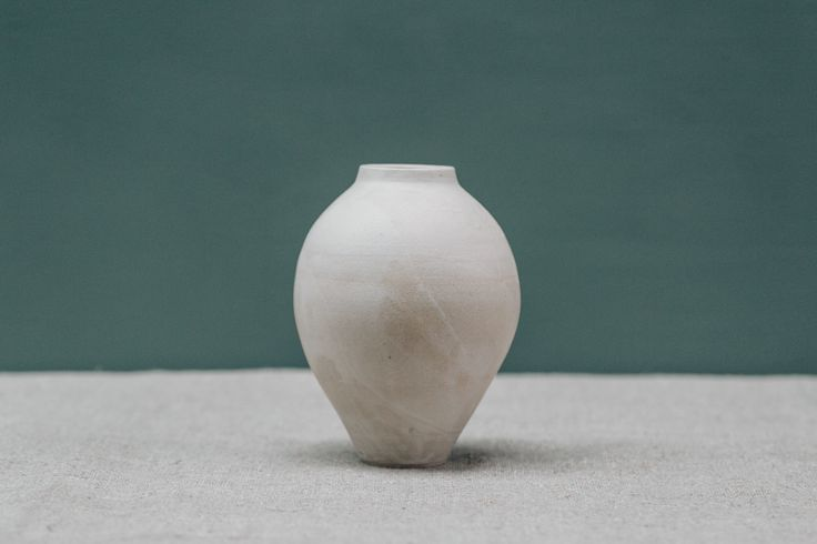 White vase by Pottery West