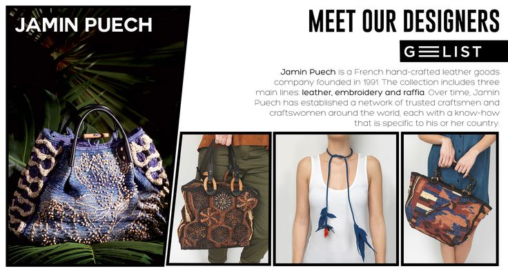 Presenting JAMIN PUECH PARIS today! They have evolved the ‪#‎bag‬ production into art! Embracing femininity and elegance their collections focus on delivering totally functional yet beautifully ornated products! It is well known that accessories are the key to elevate ones ‪#‎style‬! With Jamin Puech's unique and exquisite ‪#‎bags‬ you totally assure that your presence won't go unnoticed!!!