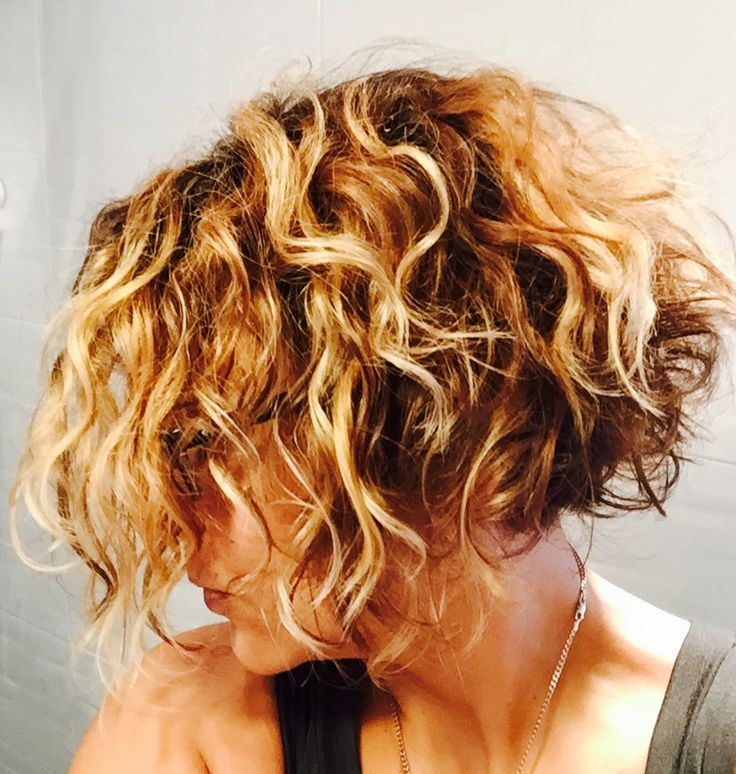 Inverted Bob Haircuts For Curly Hair