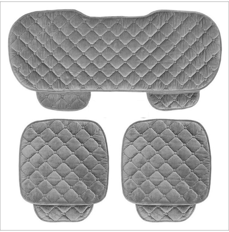 5席車のシートカバーセット用フロントバックシートチェアセット女性かわいい車のシートクッション柔らかいシルクベルベット