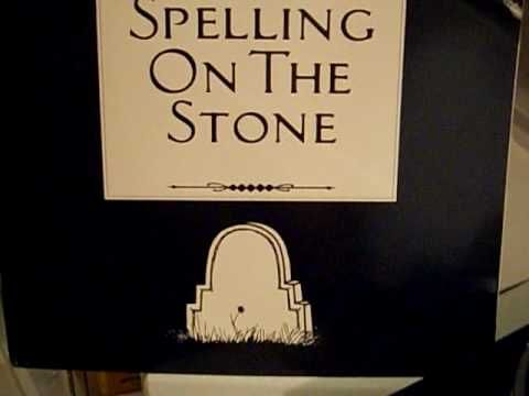 """Elvis Presley, is he still alive??? -  check the  """" Spelling On The Stone """""""