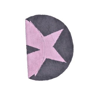Found it at Wayfair.co.uk - Lorena Canals Reversible Star Pink and Dark Grey Children's Rug - Rug Size: 140 cm W x 140 cm D (4 ft 9 in x 4 ft 9 in)http://www.wayfair.co.uk/Lorena-Canals-Reversible-Star-Pink-and-Dark-Grey-Childrens-Rug-C-SR-PDG-LRCN1160.html?refid=SBP.rBQXylQvtz5UnIrzBgk0AgAAAAAAAAAAAAAAAAAAAAA