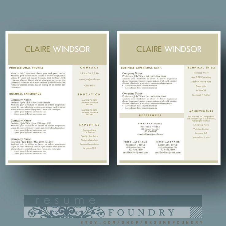11 best Resume Ideas images on Pinterest Resume ideas, Cover - resume presentation folder