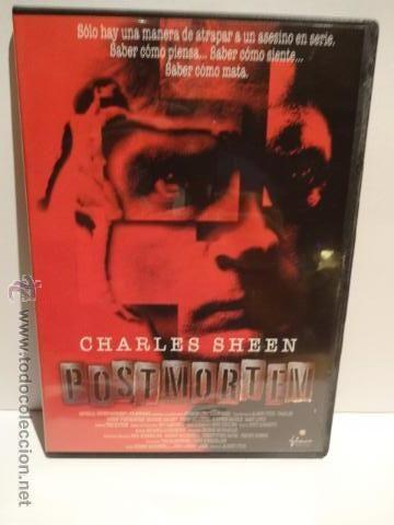 POSTMORTEM. CHARLES SHEEN - DVD / CALIDAD LUJO.