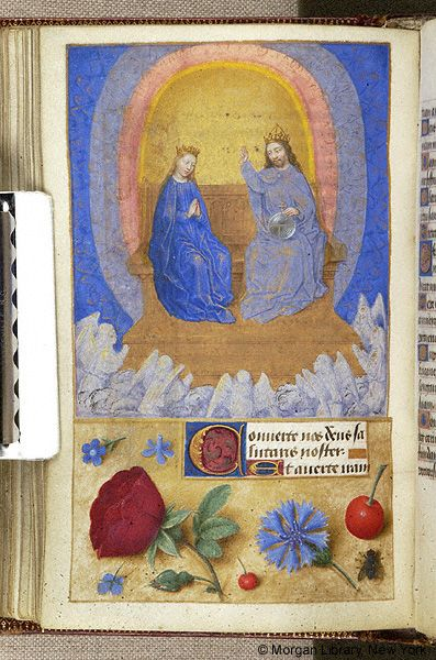 Book of Hours, MS M.6 fol. 57v - Images from Medieval and Renaissance Manuscripts - The Morgan Library & Museum