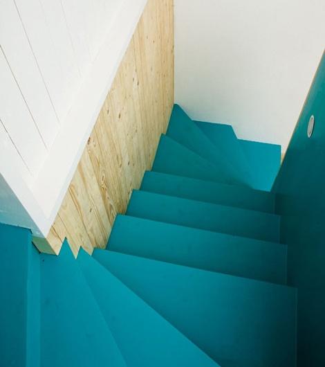 Kleurrijke trappen: origineel!