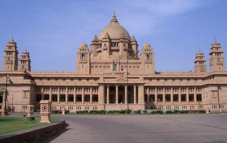 Place of great kings and warriors - Umaid Bhavan Palace