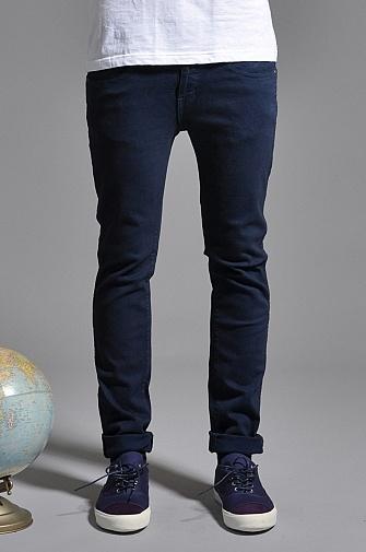 Dr Denim Snap Jeans Navy