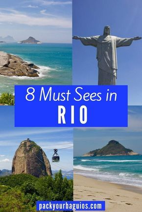 With the beauty and energy of Rio de Janeiro it can be hard to decide what all to see. Here a 8 places (with tips) you must visit when you visit this gorgeous, vibrant city!