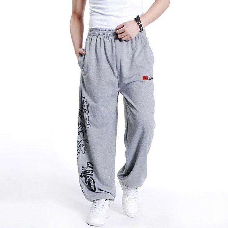 Cotton Loose Pants for Men Sweatpants for Men