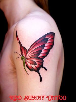 tattoo タトゥー ワンポイント デザイン 蝶