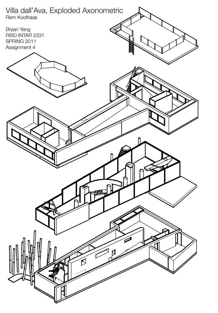 paris, villa dall'ava rem #koolhaas