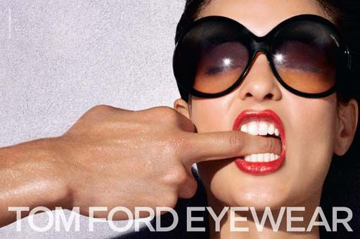 Tom Ford is a designer that loves showing sexual themes on his ads.