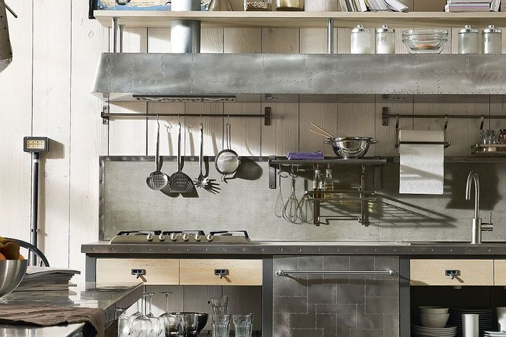 Carefully crafted cooktops and shelves crafted from steel   #LGLimitlessDesign  #Contest