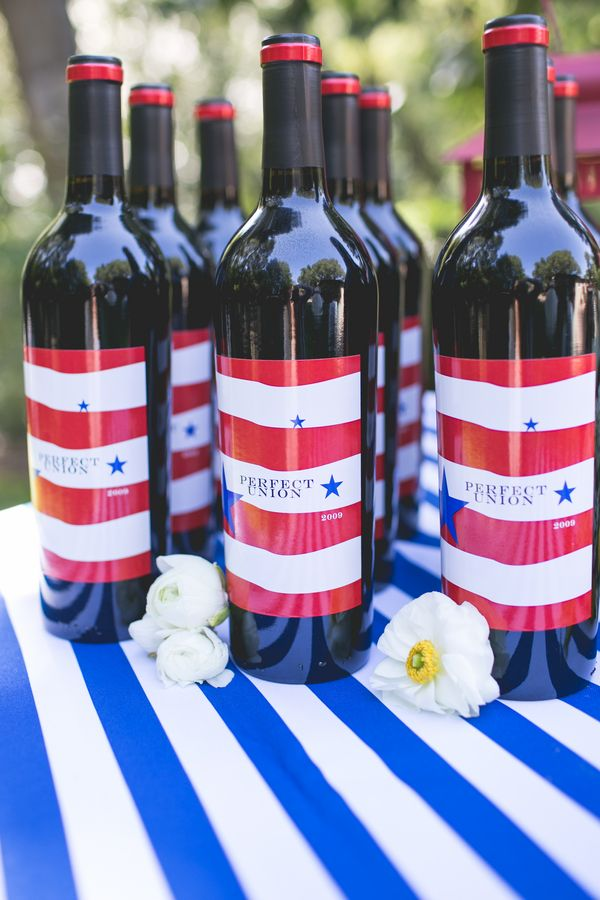 Inspiration For A 4th Of July Wedding Red White Blue