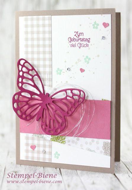 Stampinup Spring catalog 2017;  Stampinup Sale a bration 2017;  Stampinup Succulent Garden;  Stampinup order;  Stampin up birthday card;  Butterfly card