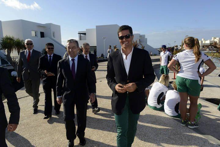 Inauguración de las nuevas instalaciones de La Santa Sport