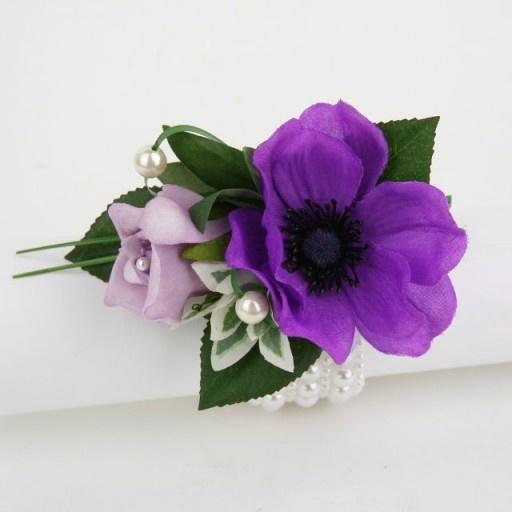 Purple Lilac Wrist Corsage