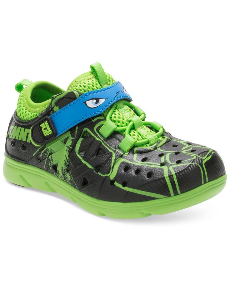 Stride Rite M2P Tmnt Phibian Shoes, Toddler Boys (4.5-10.5)
