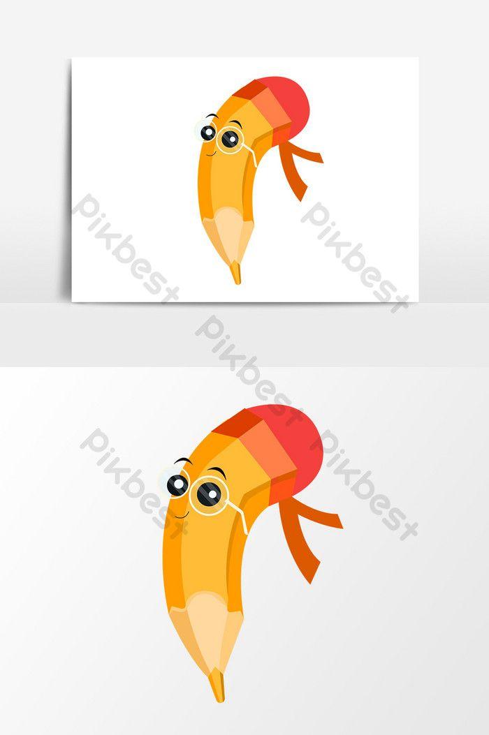 عنصر تصميم قلم رصاص لطيف الكرتون صور Png Ai تحميل مجاني Pikbest Pencil Design Design Element Math Wallpaper
