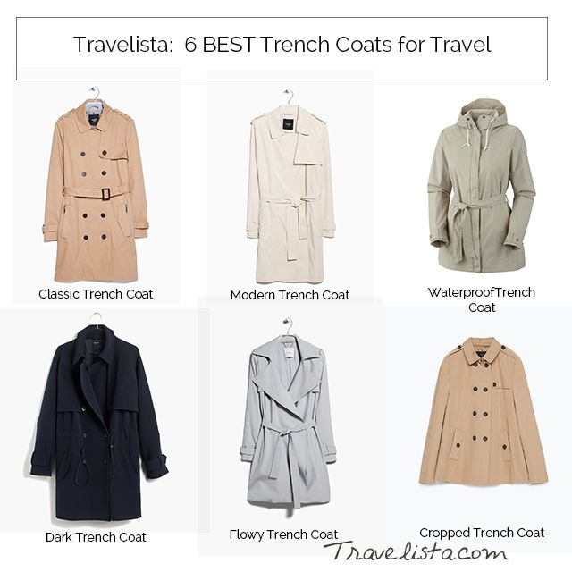 6 Best Trench Coats for Travel