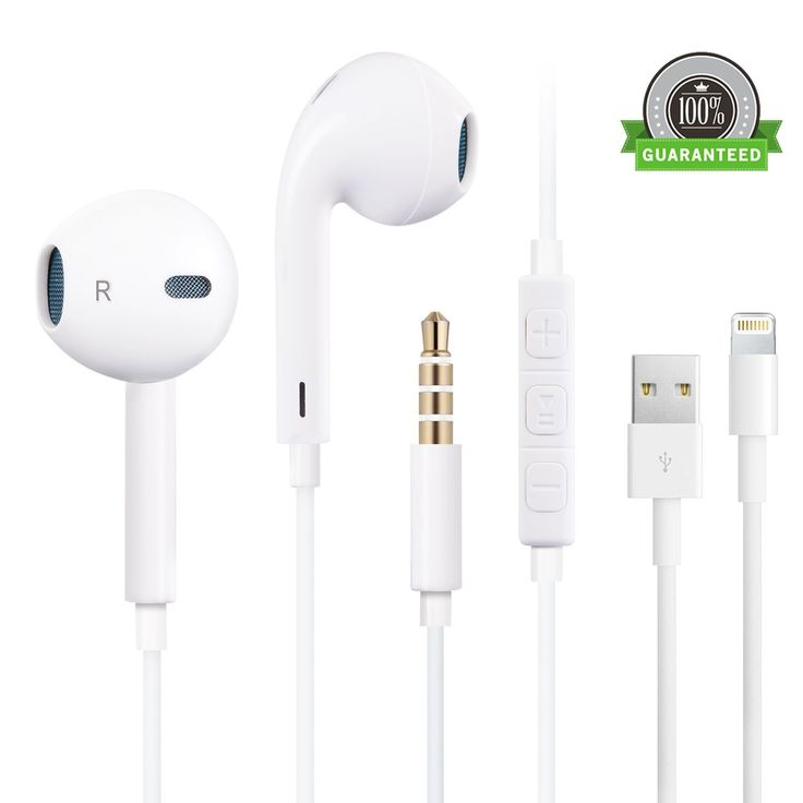 Find details Amoner Stereo iPhone EarPods with Mic&Remote Control, Noise Cancelling Earbuds Headphones 3.5mm Jack Earphones for Apple iPhone/iPad/iPod, plus 3FT iPhone Charging Cable(Carrying Case Included)-White to make the most. Example. highlight features, the warranty, after-sales service and so on.