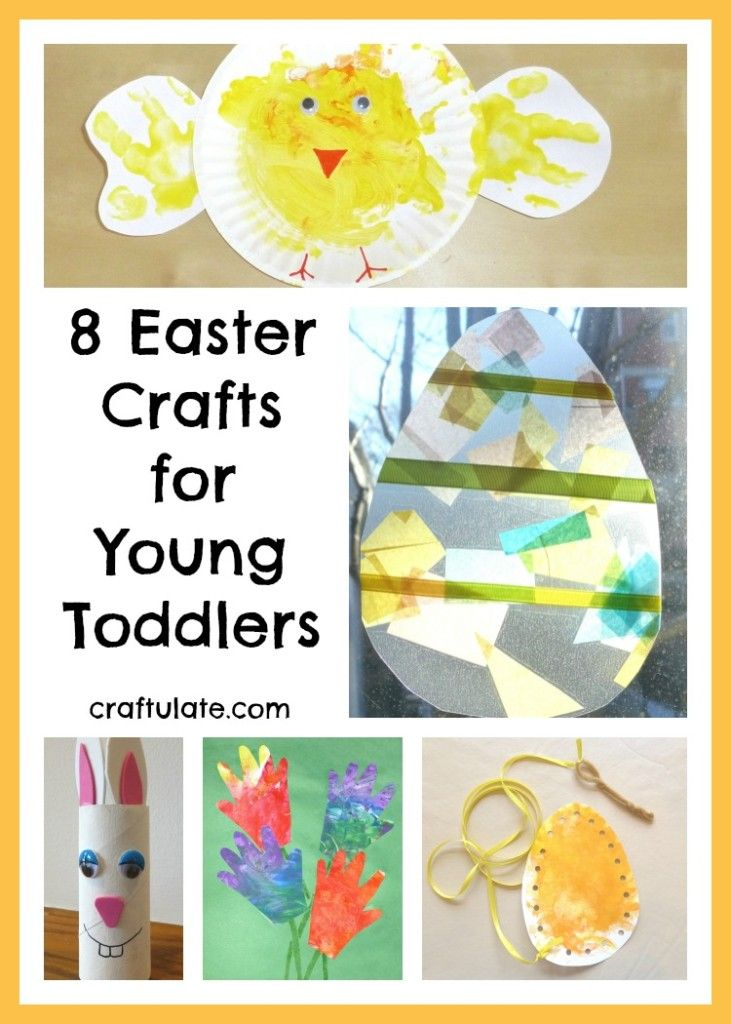 8 easter crafts for young toddlers vinyls hand prints