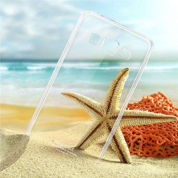 IMAK Brand Clear PC Back Case For Samsung Galaxy E5 E500H…