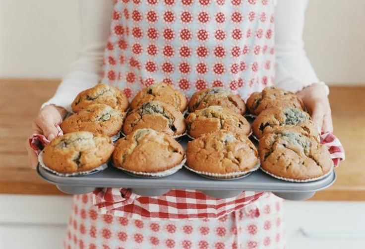 utiliza la licuadora para hacer estos deliciosos muffins de banana y avena2