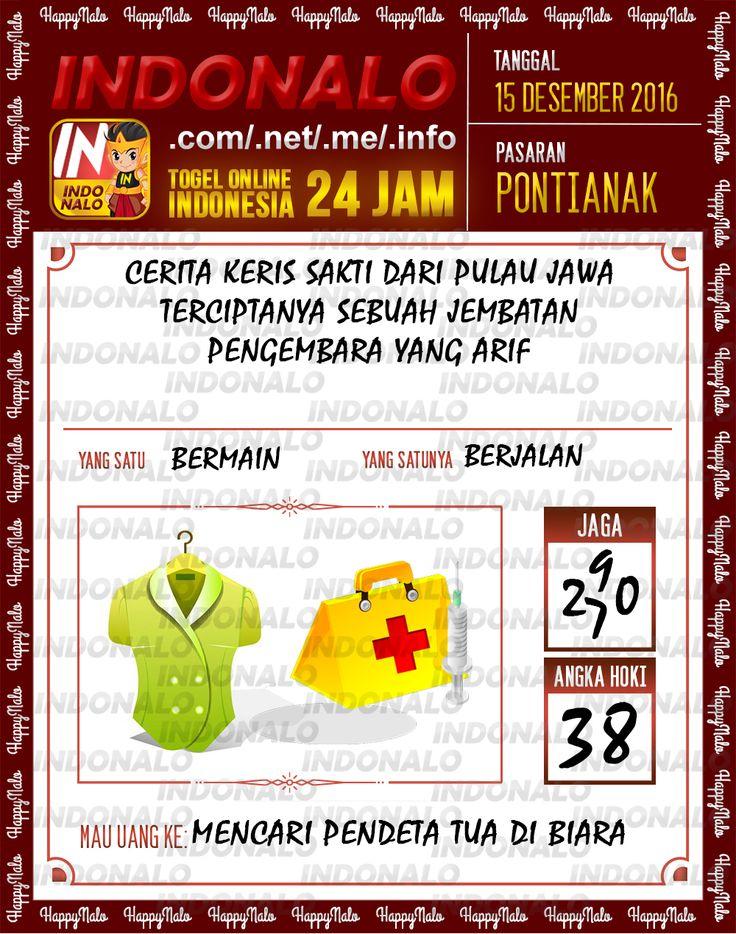 Tafsir Lotre 2D Togel Wap Online Live Draw 4D Indonalo Pontianak 15 Desember 2016