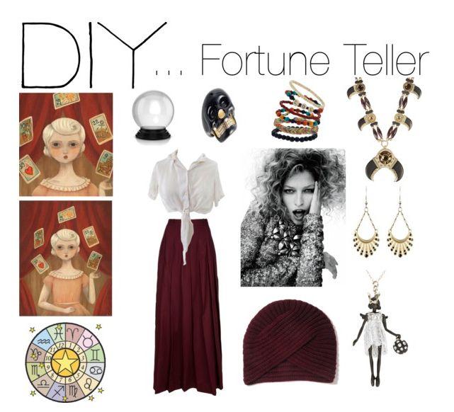 Cute easy Diy fortune teller costume.
