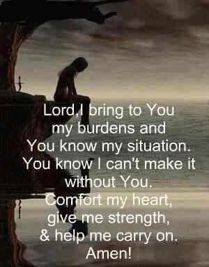 A good Prayer for difficult times.  #prayer