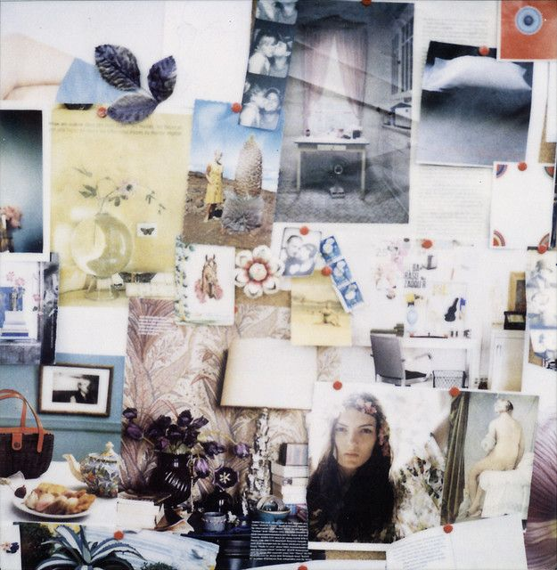 A beautiful Inspiration Board by Jen Gotch. +PORTFOLIO