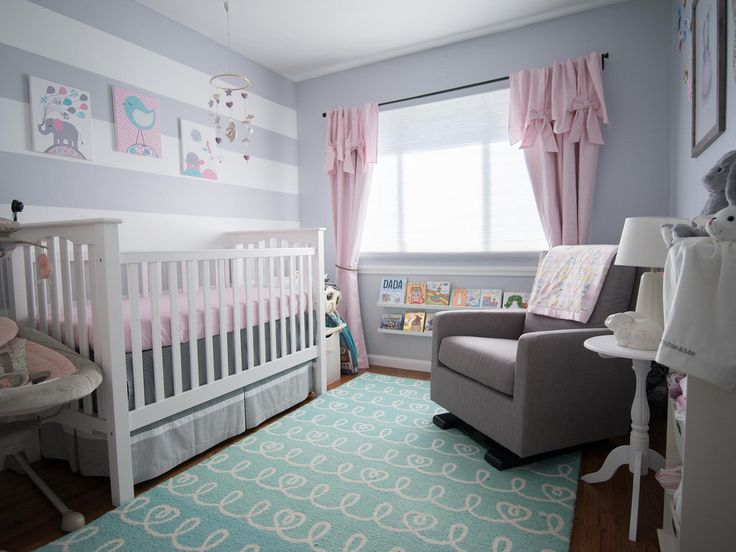 The room my wife put together for our baby Bella Rose Gavin.