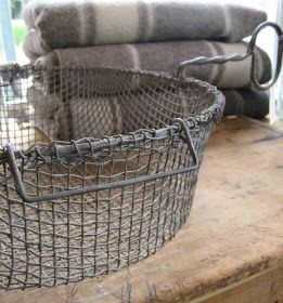 Wool, wood and wire all design elements of farmhouse style