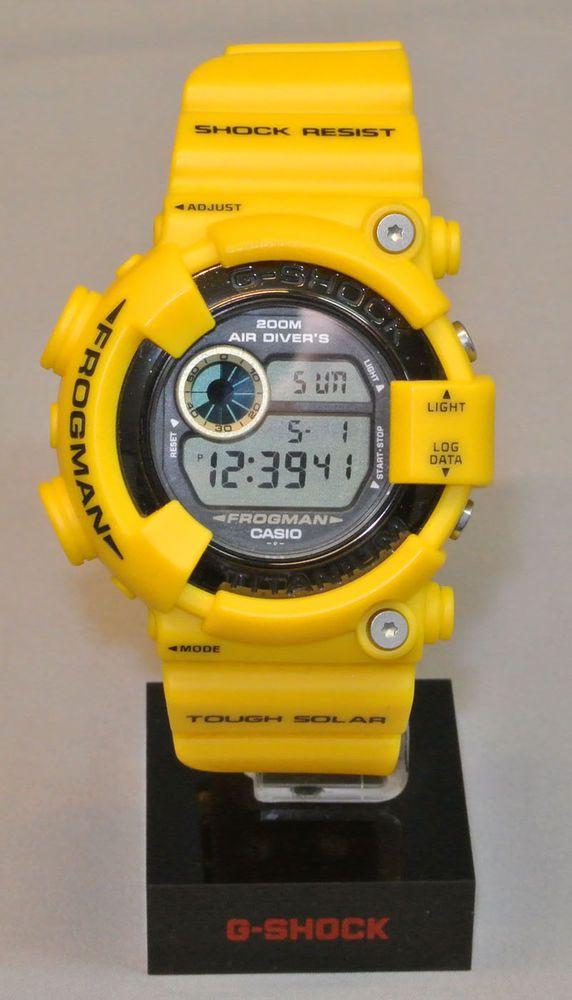 Casio G-Shock DW-8200 Frogman Yellow *Custom *slight use *Japanese One of a Kind #Casio #Sport
