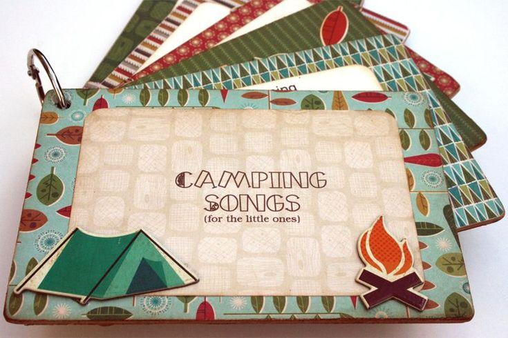 Cosmo Cricket Camping Songs Album_Smore Love Collection