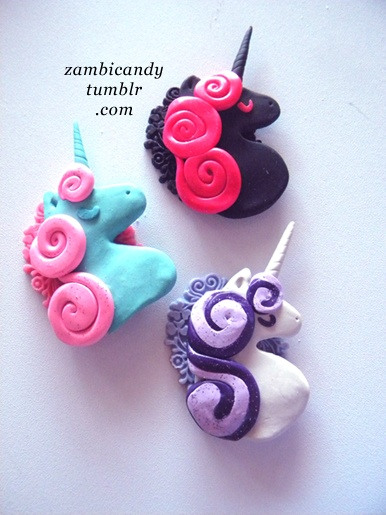 Sculpey necklaces I made :)