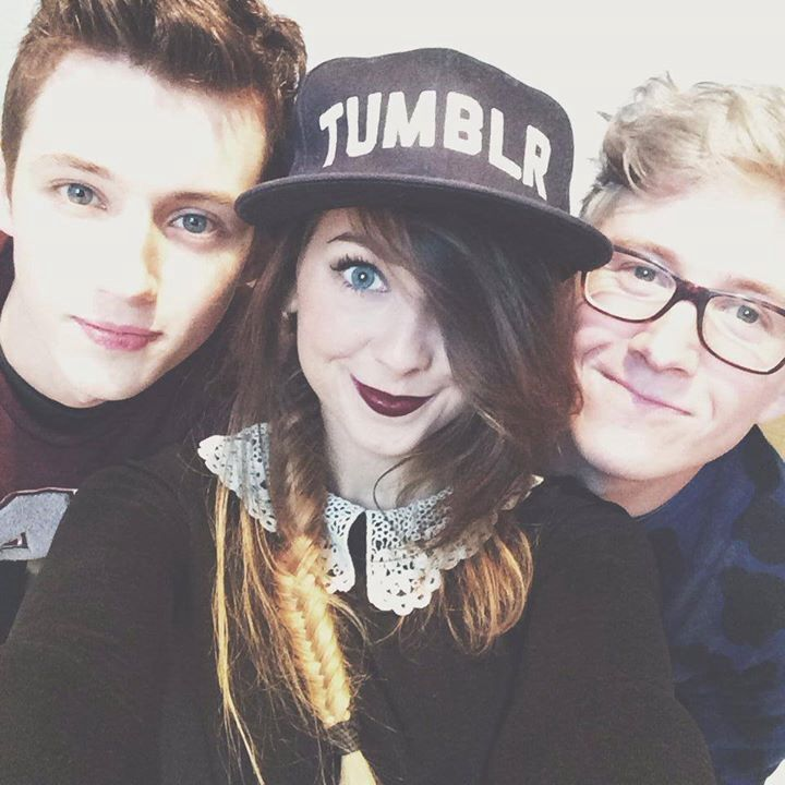 Troye, zoella, and Tyler!!!
