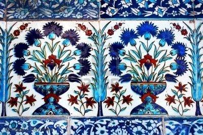 Ceramic Tile, Topkapi