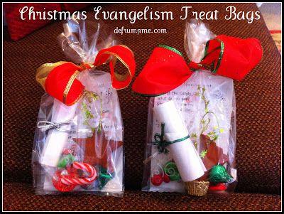 25 best ideas about Christmas treat bags on Pinterest #1: c4036afa2480ec31c2ffb0667dabaa86 christian christmas crafts christmas treat bags